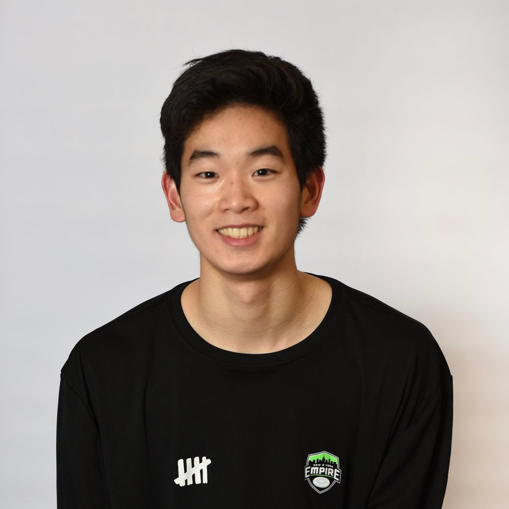 "#1 Noriaki To - ""I am so honored to be given the opportunity to be a part of the 2018 New York Empire squad as the youngest player on the team. New and exciting things are happening with the Empire and I am excited for my first pro season under Coach Murray."""