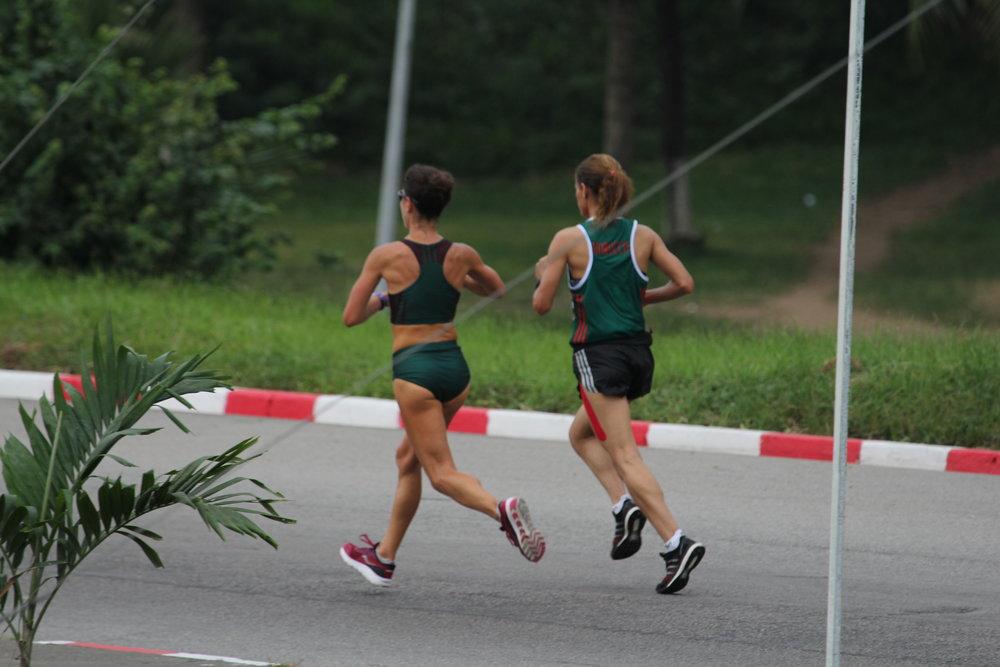 Running in stride