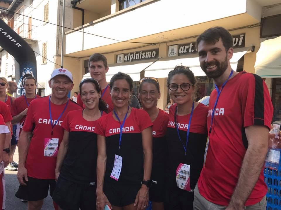 Canadian Long Distance Mountain Racing Team 2017