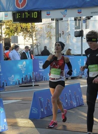 Houston Half Marathon - 1:17:07 (1:17:10 Gun Time)