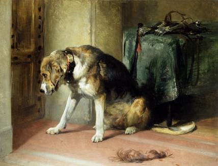 "Sir Edwin Lanseer: ""Suspense"" (1834)"