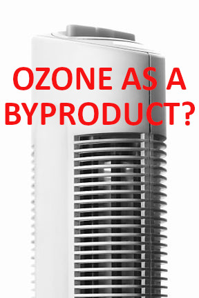 """Tower-type """"static electricity"""" air purifiers create toxic ozone gas as they """"clean"""" particles from the air."""