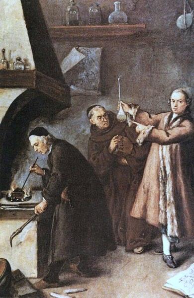 "Pietro Longh: ""The Alchymist,"" (1761)"