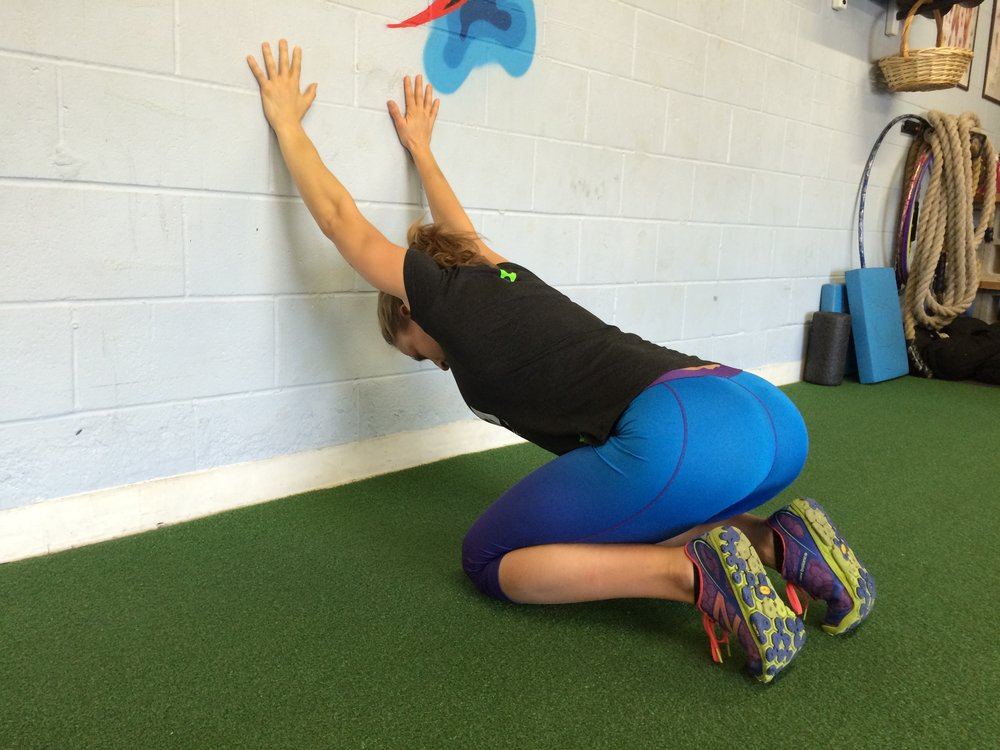Overhead Position Stretch -