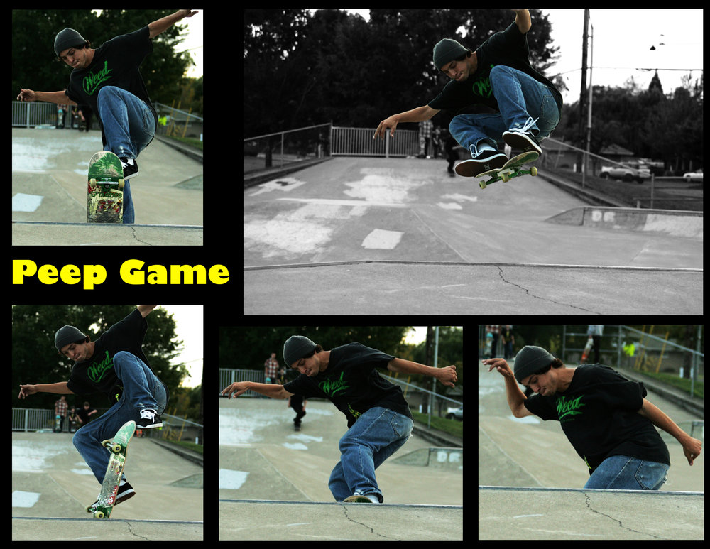 "Caleb ""Peep Game"" Grant      Sequence - Jeff Tufts"