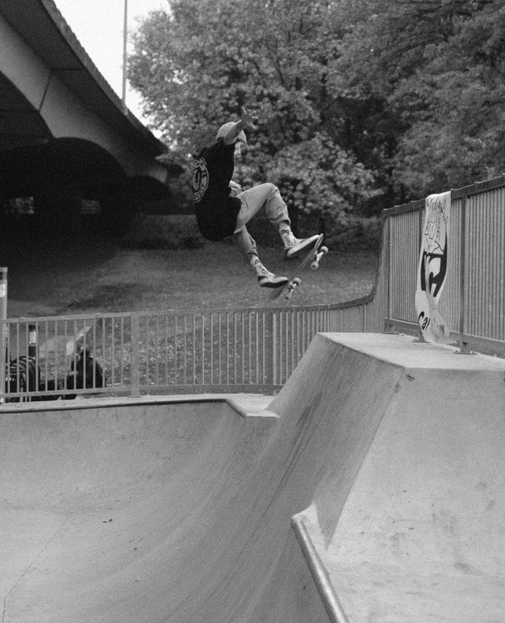 Dylan Chrisman - Fs Ollie - Photo. Sean McMurray