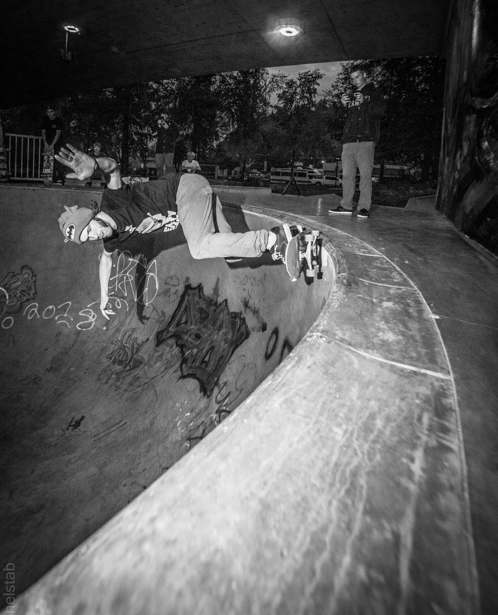 Caleb Sollars - Bs 5-0 - Photo. Matt Helstab