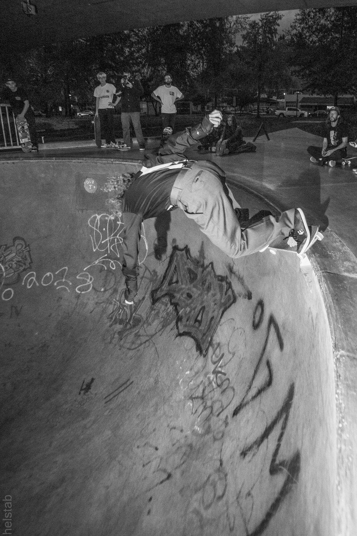 Drew Bieschke - Monty Grind - Photo. Matt Helstab