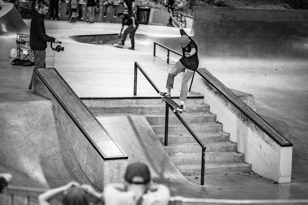 Dylan Chrisman - Fs 50-50 - Photo. Matt Helstab