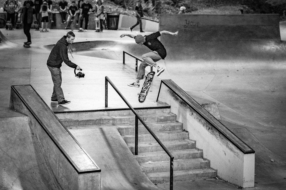 Dylan Chrisman - Hardflip 2 - Photo. Matt Helstab