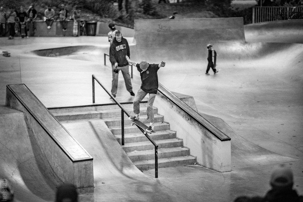 Dylan Chrisman - Fs 50-50 2 - Photo. Matt Helstab
