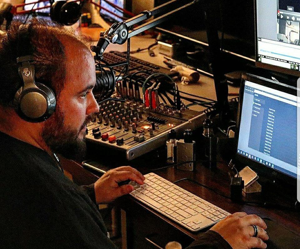 ACourchez Setting Up Studio 1 LIVE