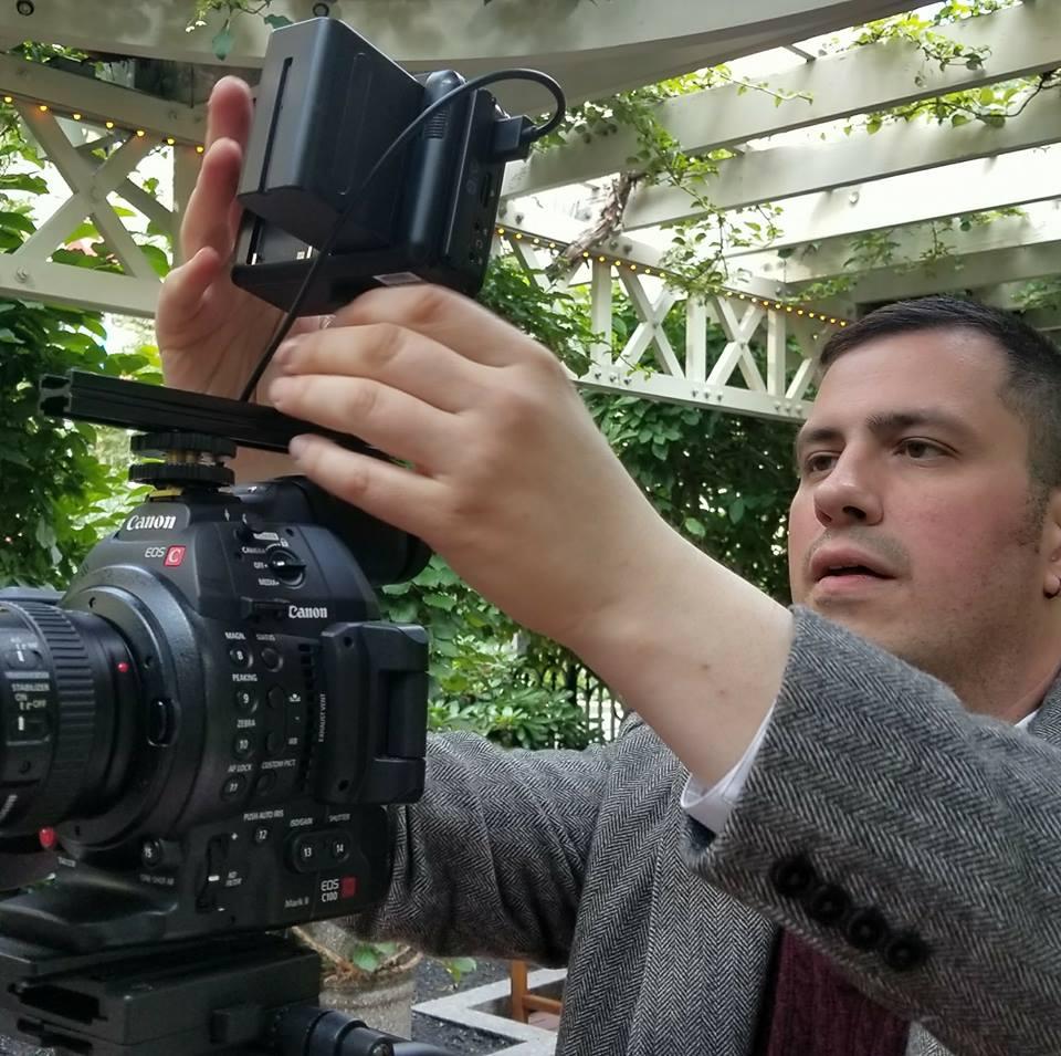 Pat Knox Filming a JLIH and Pat Knox Films Project