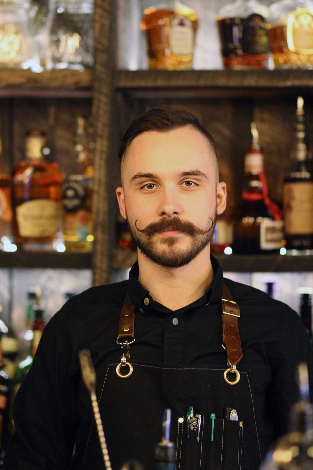 Nate Manns - Nate has been practicing the art of mixology for years now and as of recently his craft has taken him to 21 Fir where he has been working since mid November of this year. The Waterloo University graduate takes great pride in his art and consistently aims to not only make the perfect drink, but create the perfect experience for the customer.  I sat down with experienced bartender Nate Manns and asked him a couple questions.What is your favorite beer 21 Fir has to offer?