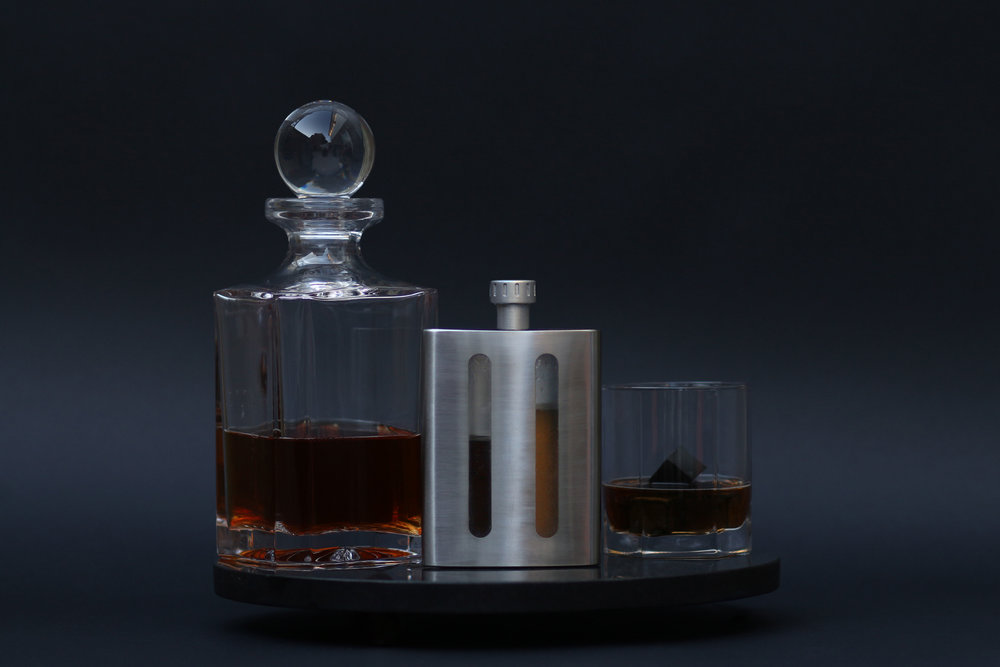 The world's first dual chambered flask