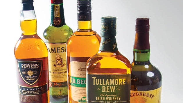 Different types of whiskey