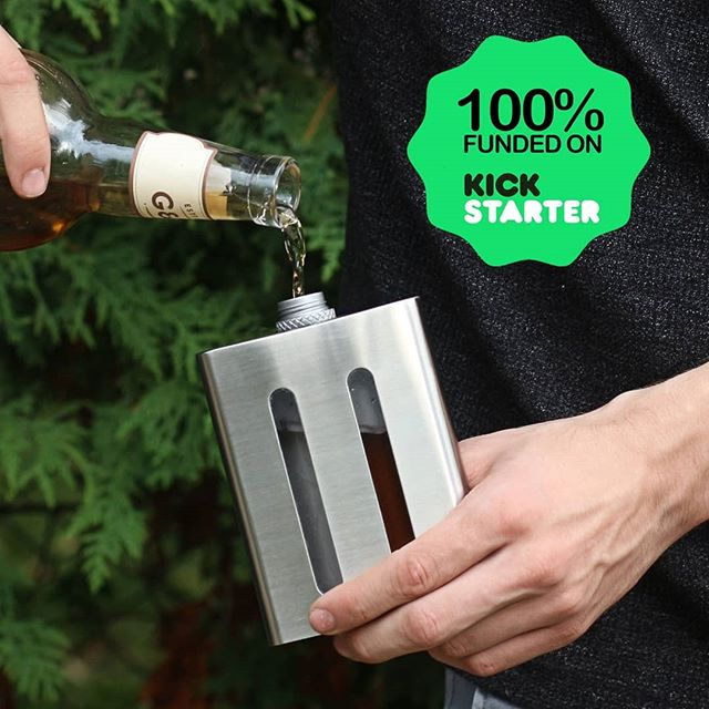 Cheers to 2018! 🎉 It's been a wild ride to say the least. We launched our @kickstarter earlier this year and with the tremendous support we've recieved from you all, we'll be delivering our dual chambered flasks in 2019 🍻  #dividereflask #nye #nye2018 #2019goals #startups #kickstarterproject #drinkup #cheers #designlife #whiskeygram