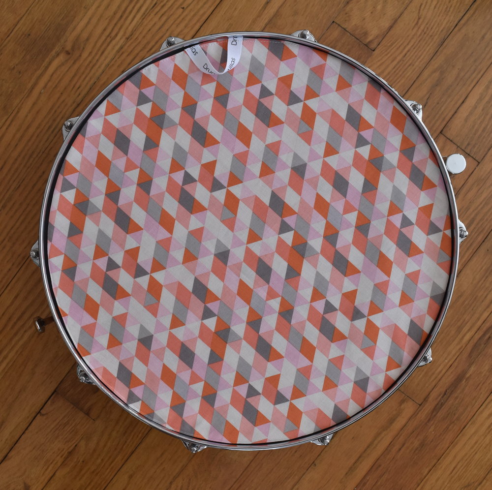 Grey Pink Geometric