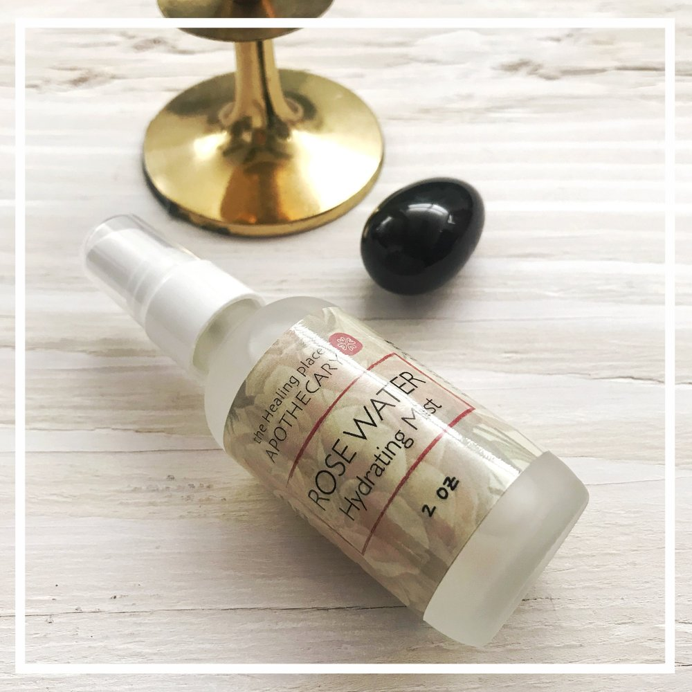 Rose Water Hydrating Mist