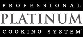 The Professional Platinum Cooking System  is titanium/surgical steel cookware that enables you to fry without using oil and cook vegetables without using water, all below 200F. Cooking this way retains up to 90% more nutrition, uses 75% less fat while using 50% less energy. It's simply the healthiest environmentally friendly way to cook!