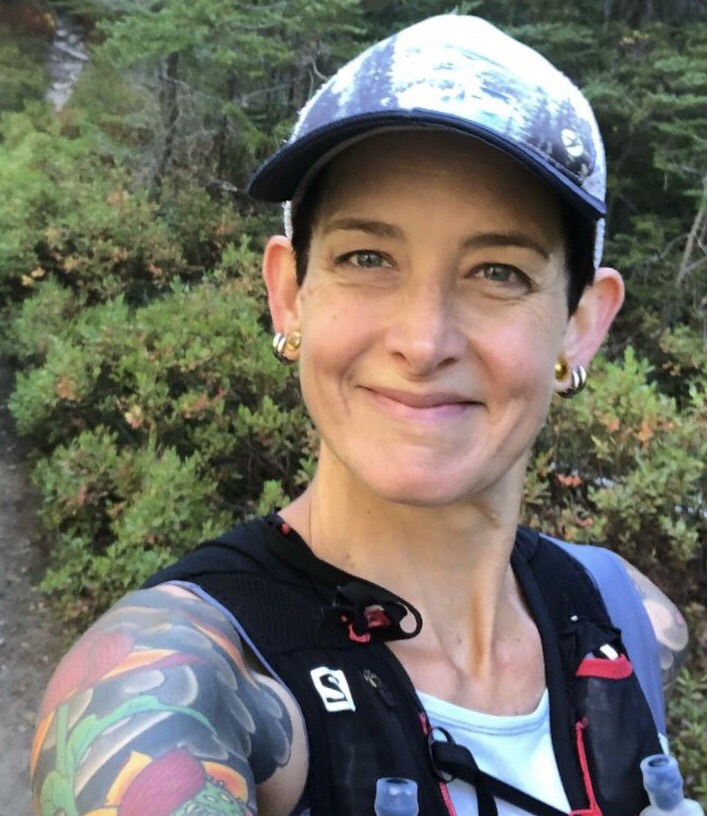 LISA RYAN - When not training and fine tuning her plant-based nutrition strategies to run ultramarathons Lisa Ryan is busy in her role as Education Outreach Coordinator and animal caregiver at Wildwood Farm Sanctuary, volunteering and doing activism for various organizations and causes, and being a full-time homeschool educator to three awesome vegan kiddos.