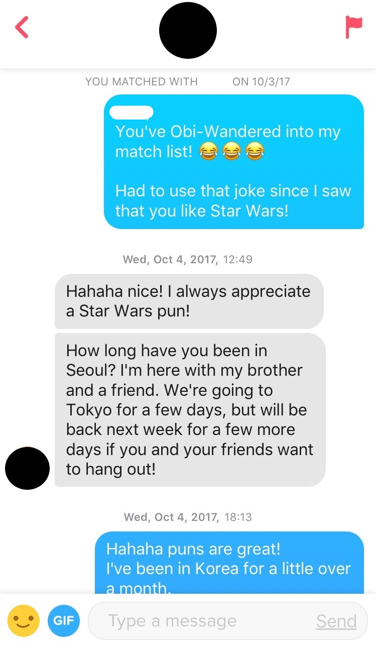 dating app puns