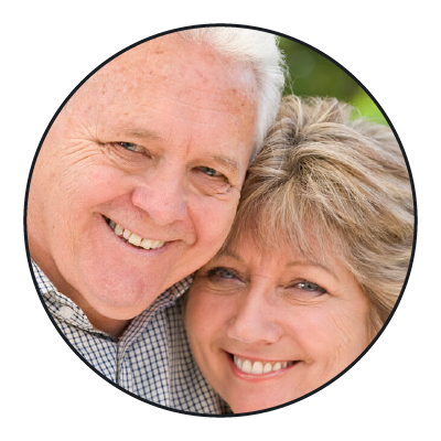 Dental implants at Hillcrest Dental at Castle Hills helps bring back your smile.