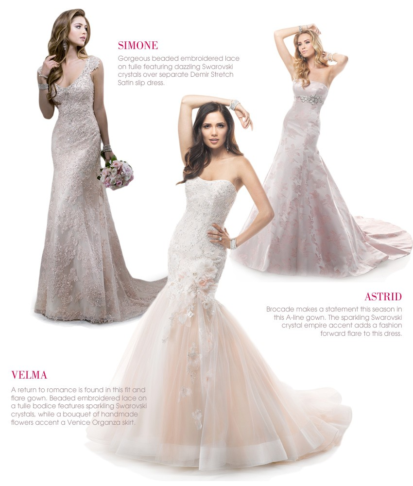 STUNNING LOOKS FOR 2014 — Mira Bridal Couture