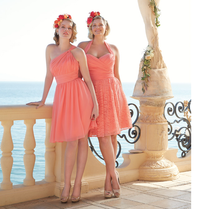 Watters Bridesmaids for Mira Bridal Couture