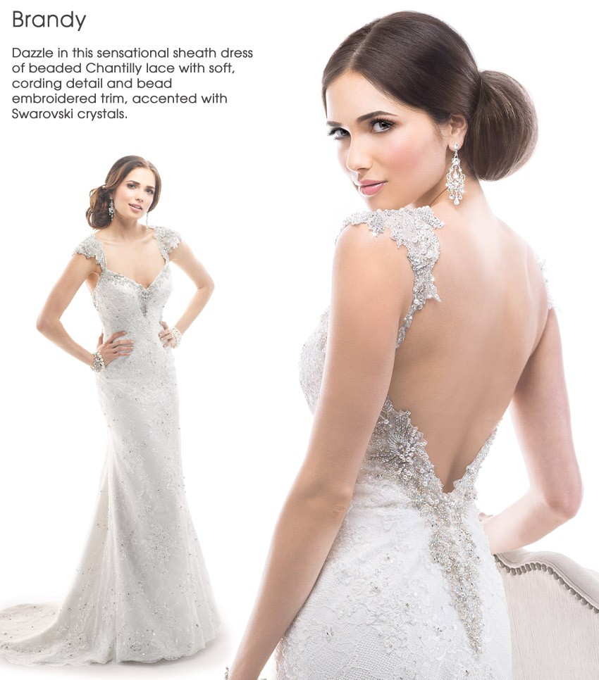 MaggieSottero Spring2014 Brandy Mira Bridal Couture