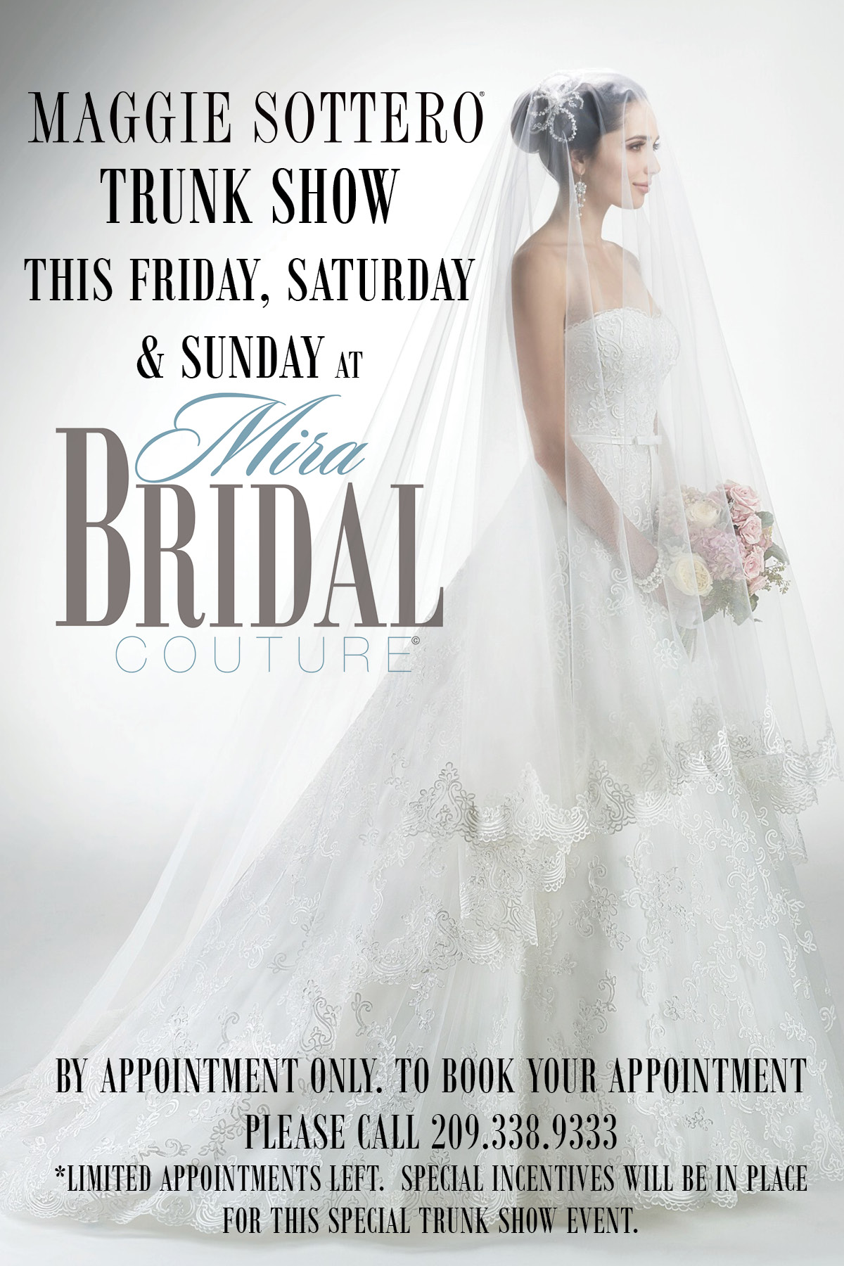 Maggie Sottero Trunk Show with Mira Bridal Couture