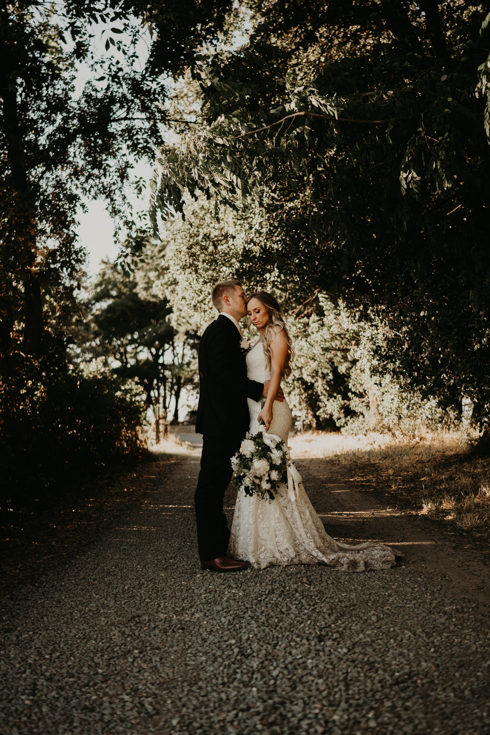 """Thomas and I agreed from the beginning that this was our day,"" explains Jessica. ""We didn't want high expectations to interrupt our joy and excitement surrounding our wedding."""