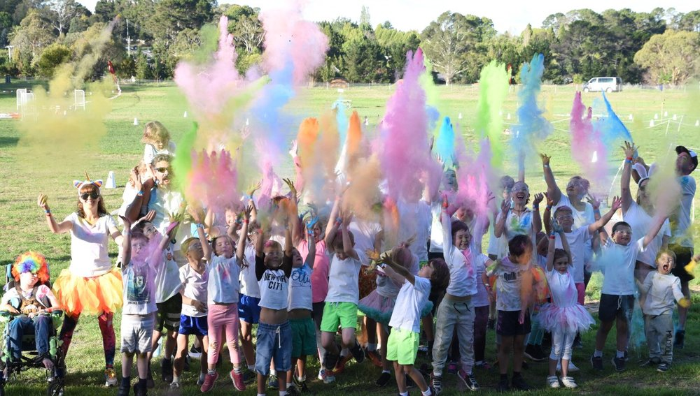 FLURO Splash at the Moss Vale Show