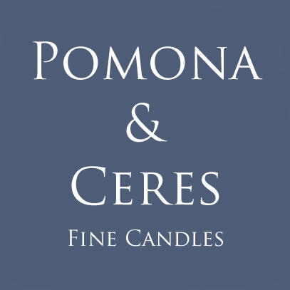 Pomona & Ceres fine scented candles.