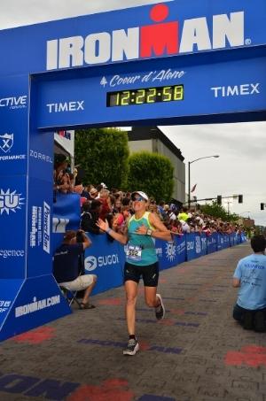 Actual finish 12:14:59