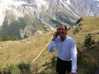 Our new trail running Italian friend