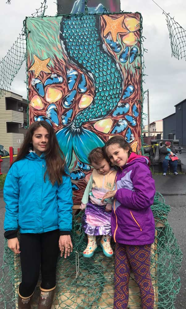 Seward Mermaid Festival Kids