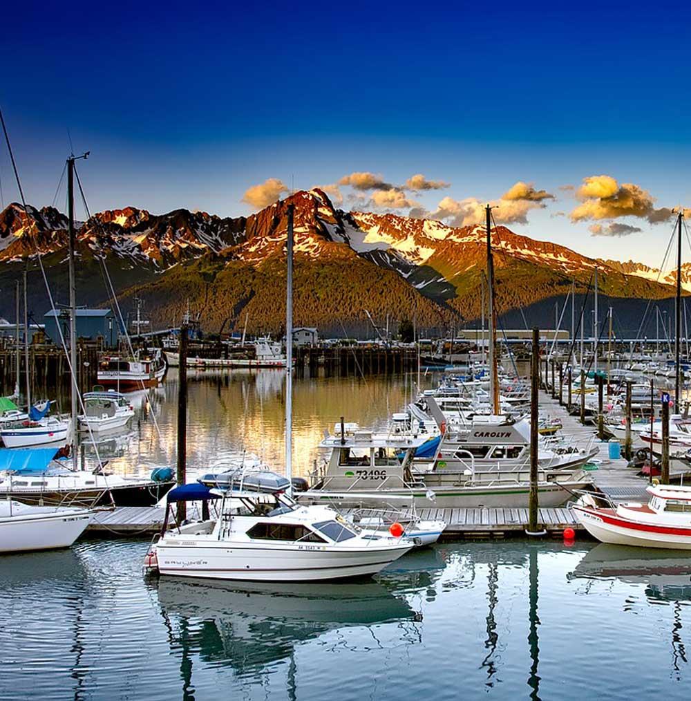 Seward harbor opening weekend -