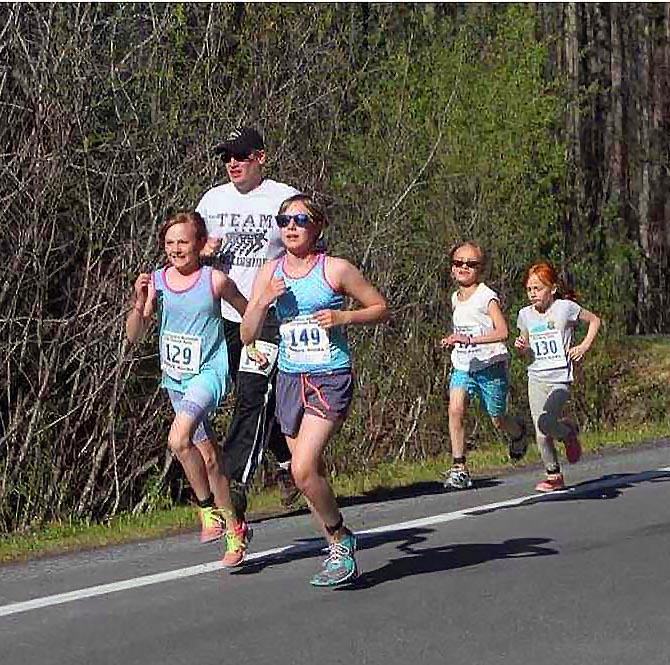 Terry Pollard Memorial exit glacier race -