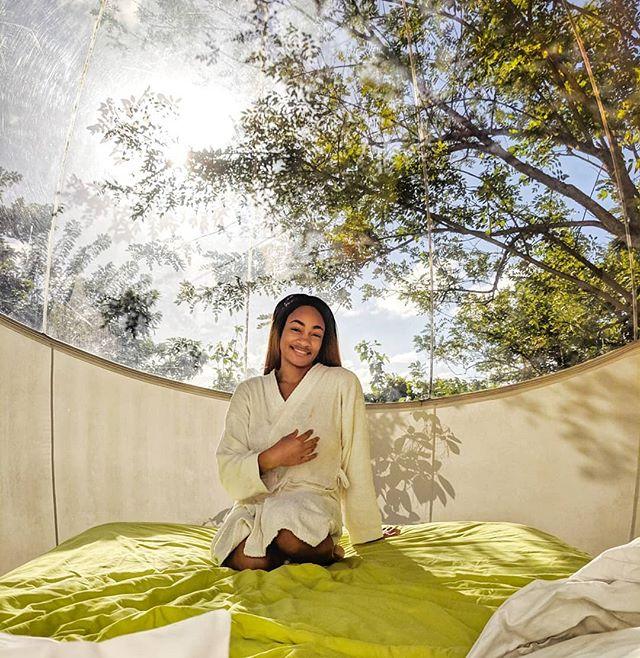 Happy Friday!  Whether on the go or at home, it's important to make time for your overall wellness.  What's your self care routine? . . . . . . . . . . . . . . . . . . . . . . .  #glamping #ecofriendly #natureaddict #welivetoexplore #naturelover #nature #wellnessjourney #holisticwellness #holistichealth #holisticliving #holisticlifestyle #mindbodyspirit #mindbodygram #selfcare#greenlifestyle #organiclifestyle #cleanliving #mindbodysoul #wellnessblog #girlslovetravel #girlsvsglobe #girlsthatwander #shetravels #girlsjustwannatravel #sheisnotlost #ladiesgoneglobal #femaletravel #sheexplores #girlsabroad #girlaroundtheworld