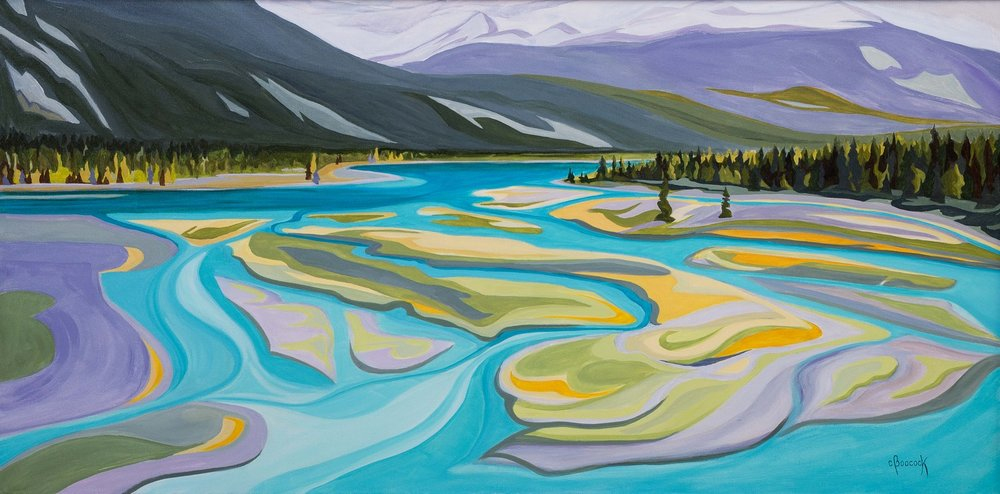 Meanders - Athabasca River Series