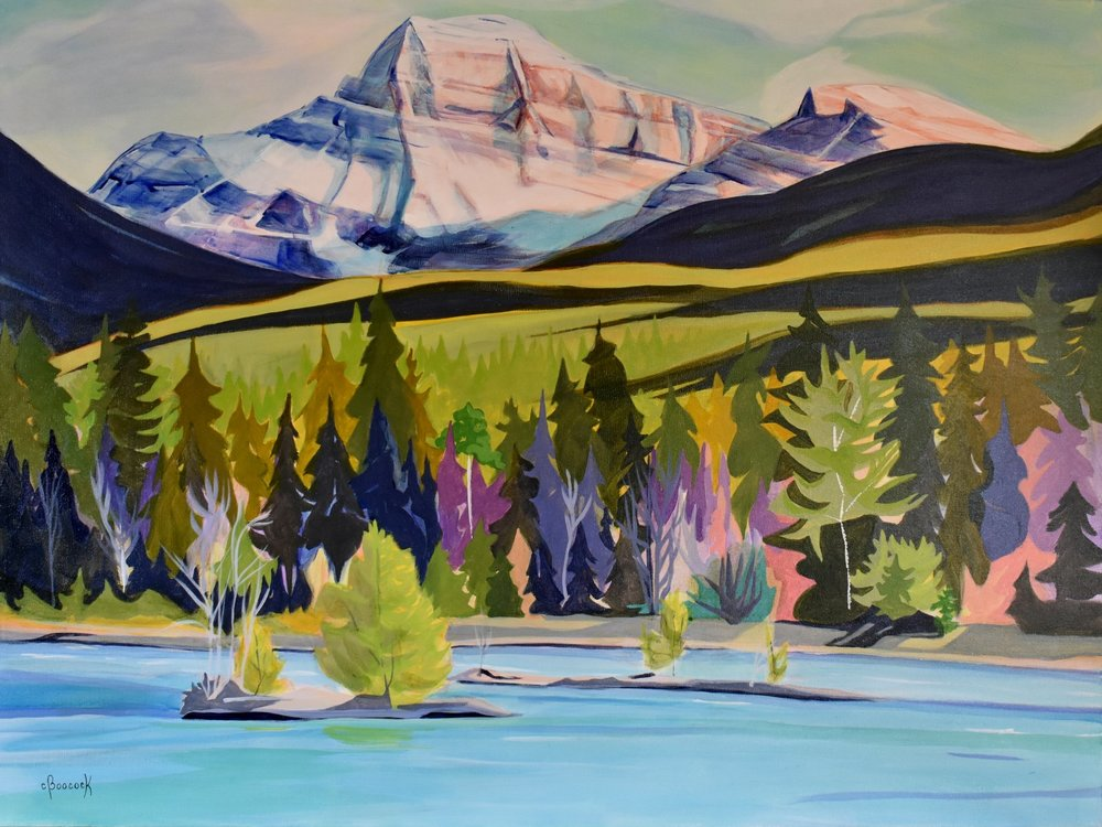 Mt. Edith Cavell - Athabasca River Series