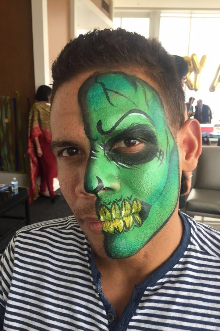 Adult Face Painting -