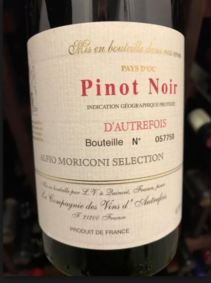 Episode 7: D'Autrefois Pinot Noir France