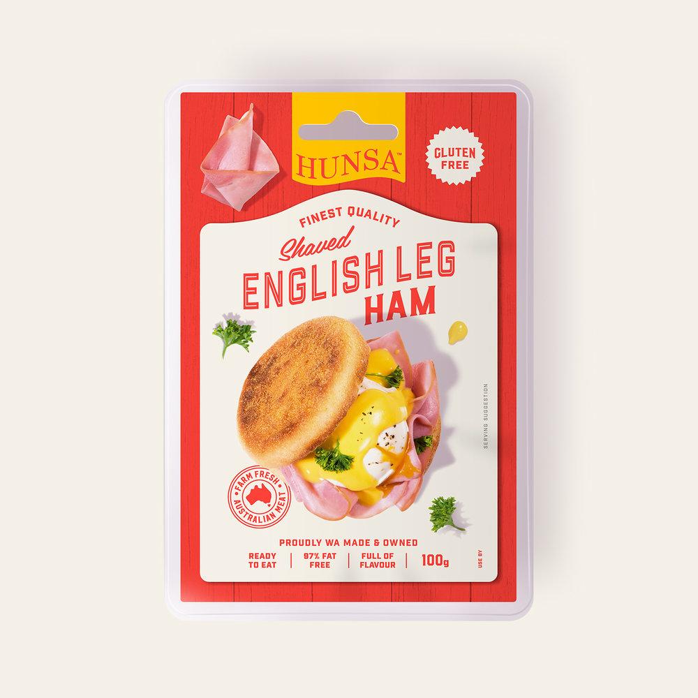 English Leg Ham 100g
