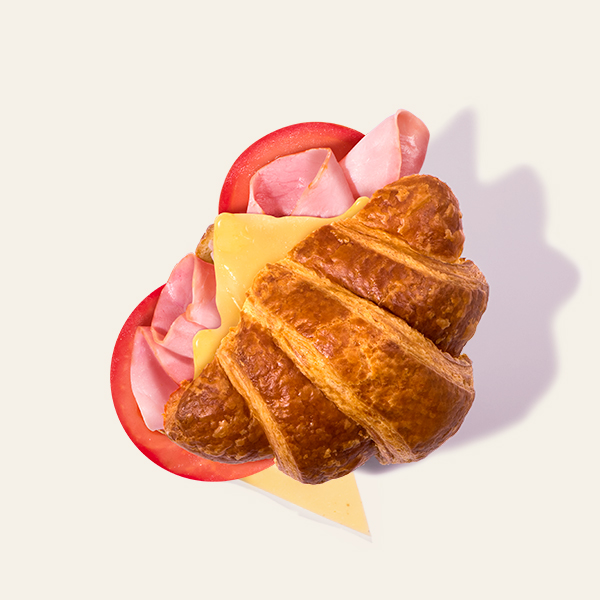 Champagne Ham & Cheese Croissant