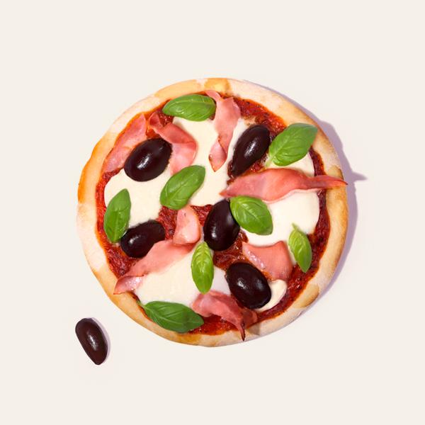 Hickory Ham & Olive Pizza