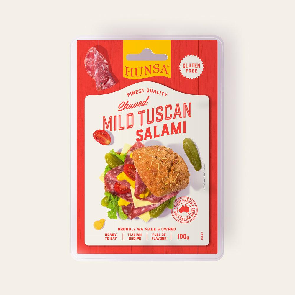 Mild Tuscan Salami 100g