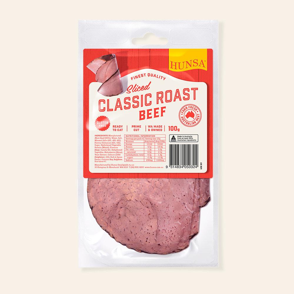 Classic Roast Beef 100g