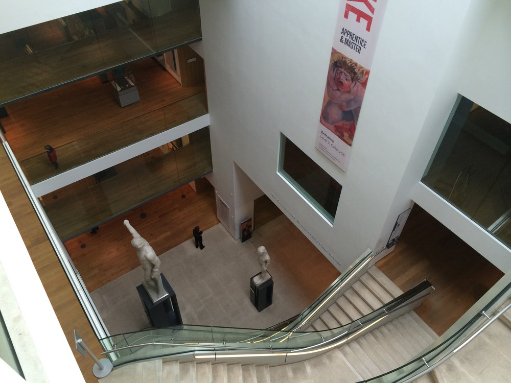 The view from the top of the Ashmolean